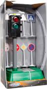 Speed Zone Verkehrsampel mit Licht und Verkehrszeichen, 9-teilig, ab 3 Jahren