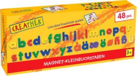 Creathek Magnet Kleinbuchstaben 48-teilig