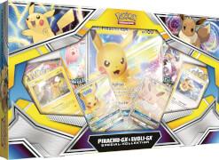 Pokémon Pikachu-GX & Eevee-GX Collectors Box  ab 6 Jahren.