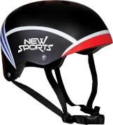 New Sports Skater Helm Größe M, für Kopfumfang 55-57 cm, ca. 27x21x12,5 cm, ab 6 Jahren