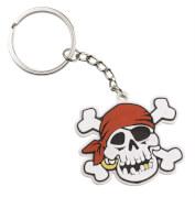 2 Schlüsselanhänger Jolly Roger