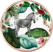 Holzschale I love my Jungle Garden